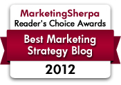 2012 Readers Choice Best Marketing Strategy Blog