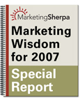 Marketing Wisdom for 2007
